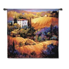 Cityscape, Landscape, Seascape Evening Glow by Nancy O'Toole Tapestry