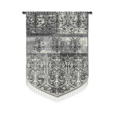 Classical Abstract Damask Pearl by Acorn Studios Tapestry