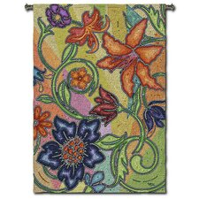 Abstract Garden Party Mosaic by Acorn Studios Tapestry