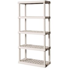 <strong>Sterilite</strong> 5 Shelf Shelving Unit