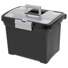 Portable File Box (Set of 4)