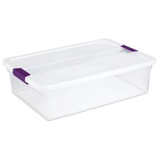 ClearView Storage Container (Set of 6)