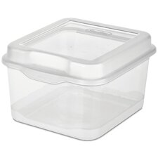 <strong>Sterilite</strong> Small Flip Top Storage Box