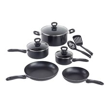 <strong>WearEver</strong> Comfort Grip 10-Piece Cookware Set