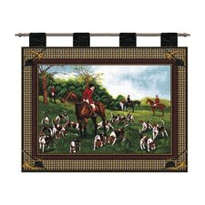 Fox Hunt Tapestry