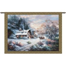 <strong>Pure Country Weavers</strong> Snowy Evening Tapestry