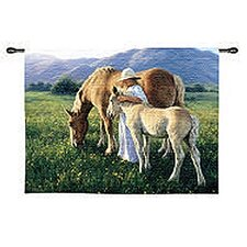Beautiful Blondes Tapestry
