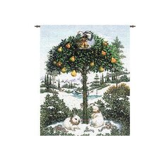 Partridge in a Pear Tree Tapestry