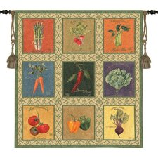 <strong>Pure Country Weavers</strong> Vintage Veggies Tapestry