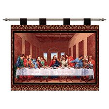 The Last Supper II by Leonardo Da Vinci Tapestry