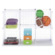 "14.5"" Wire Storage Cube (Set of 6)"