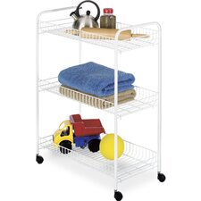 "33.75"" Large Household Cart (Set of 3)"