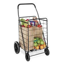 <strong>Whitmor, Inc</strong> Deluxe Utility Cart in Black