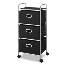 <strong>Whitmor, Inc</strong> Three Drawer Cart