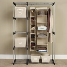 "19.29"" Deep Double Rod Closet"