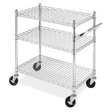 <strong>Whitmor, Inc</strong> 3 Tier Commerical Cart