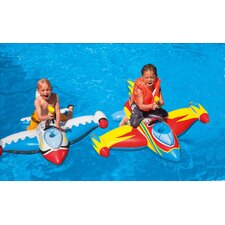 4 Piece Spaceship Ride-On Pool Toy Set