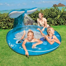"Round 13"" Deep Spray 'n Splash Whale Pool"