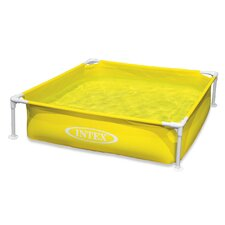 "Square 12"" Deep Mini Frame Pool"