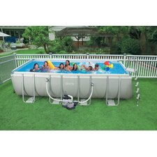 "<strong>Intex</strong> Rectangle 52"" Deep Ultra Frame Pool"
