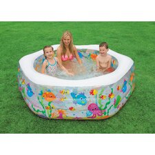 Hexagon Ocean Reef Inflatable Pool