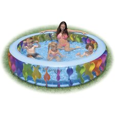 "Round 22"" Deep Swim Center Color Whirlpool"