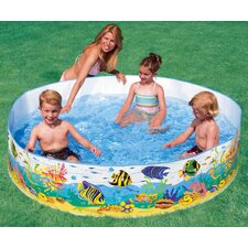 "<strong>Intex</strong> Round 15"" Deep Color Reef Snapset Pool"