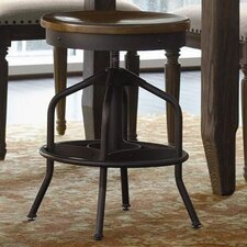 <strong>Universal Furniture</strong> Great Rooms Swivel Factory Bar Stool