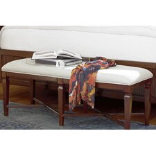 Silhouette Upholstered Bedroom Bench