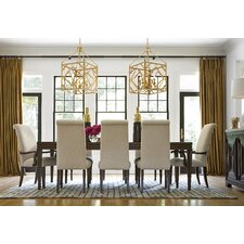 California Extendable 9 Piece Dining Set