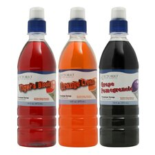 Premium Syrup - Unique Flavors (Pack of 3)