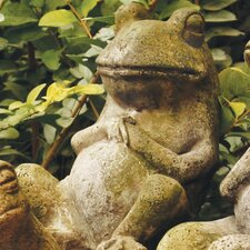 Animals Laid Back Frog Statue