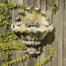 Shell Opera Planter Garden Wall Decor