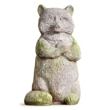 Animals Raccoon Statue