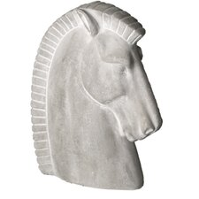 Animals Deco Horse Head Statue