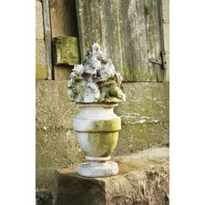 French Garden Bouquet Statue