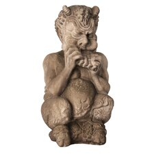 Gargoyles Chubby Greek Pan Statue
