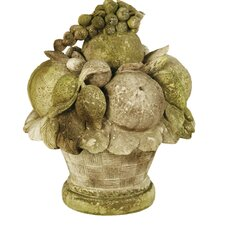 Carved Fruit Statue