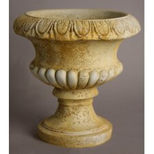 Egg and Dart Round Urn Planter