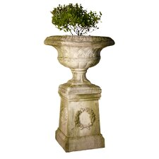 Weaved Classical Urn Planter