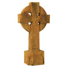 Religious Saint John Cross on Stand Statue