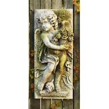 <strong>OrlandiStatuary</strong> Little Boy Summer Plaque Wall Decor