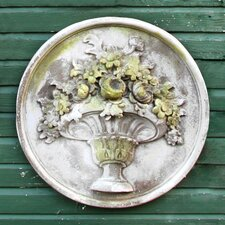 Flower Bouquet Plaque Garde Wall Decor