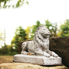 Animals Sentinel Lion-Small Statue