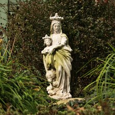 Religious Queen and Child of Heaven Statue