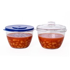 Microwave Mini Pots (Set of 2)