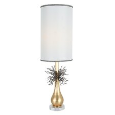 "Burst Access 33"" H Table Lamp with Oval Shade"