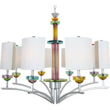 <strong>Van Teal</strong> On Extravaganza 8 Light Chandelier