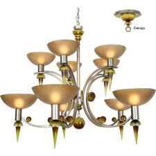 <strong>Van Teal</strong> Ambrosia Melissa 10 Light Chandelier