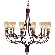 <strong>Van Teal</strong> Amnesia Regal 12 Light Chandelier
